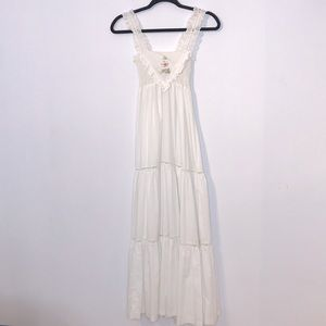 Vintage Joseph Ribkoff embroidery maxi dress